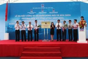 Opening Ceremony of PTSC Shipyard Joint Stock Company